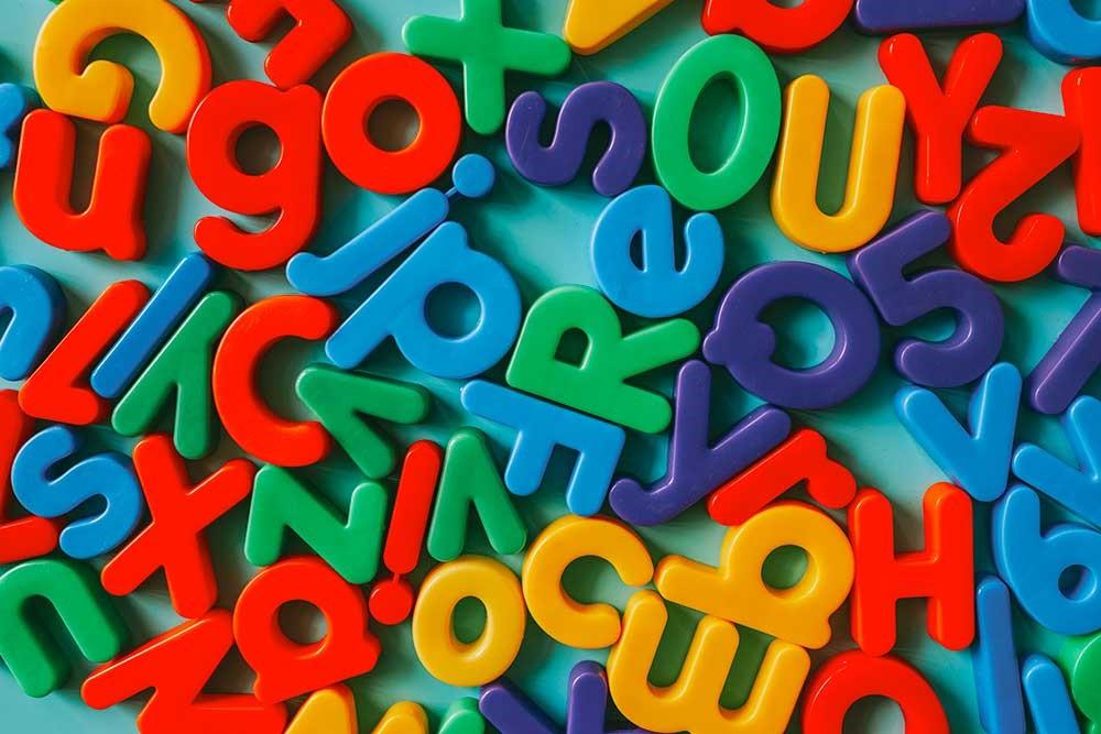 حروف انگلیسی